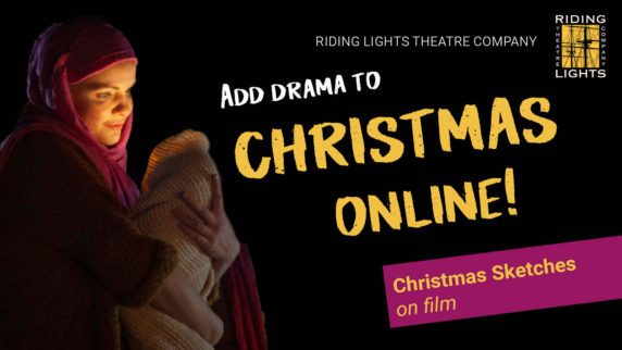 Add Drama to Christmas... Online!
