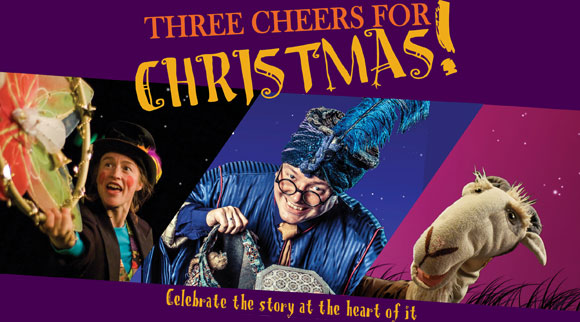 Three Cheers For Christmas!